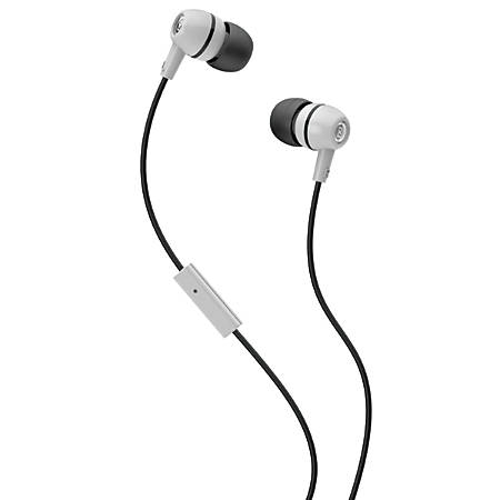 Skullcandy Spoke 2XL Earbuds, White/Black