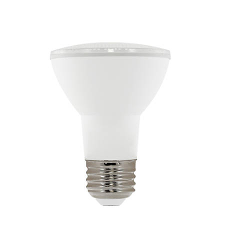 Euri PAR20 5000 Series LED Flood Bulb, Dimmable, 500 Lumens, 8.5 Watt, 4000K/Cool White, Pack Of 6 Bulbs
