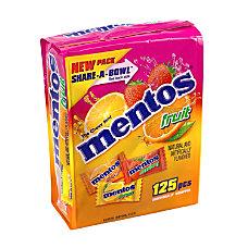 Mentos Fruit Mints Share A Bowl