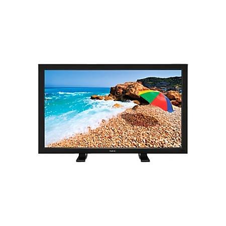 "NEC Display Tabletop Stand, 4.5""H x 9.5""W x 2.4""D, Black"