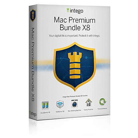 Intego Mac Premium Bundle X9, Download Version