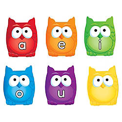 Learning Resources Vowel Owls Magnetic Set