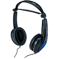 Kensington Noise Canceling Headphones Stereo Black