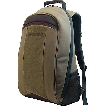 "Mobile Edge 17.3"" Canvas Eco-Backpack Olive"