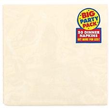 Amscan 2 Ply Paper Dinner Napkins
