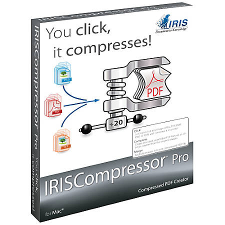 IRISCompressor Pro for Mac, Download Version