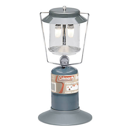 "Coleman® 2 Mantle Propane Lantern, 10 1/4"", Green"