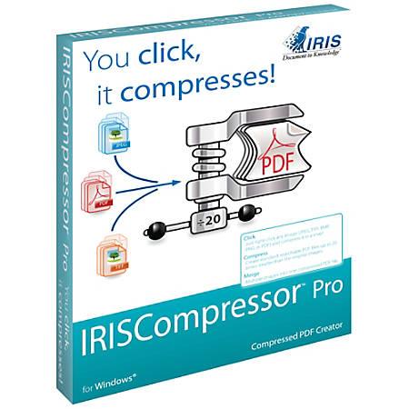 IRISCompressor Pro for Windows, Download Version