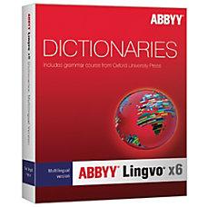 ABBYY Lingvo X6 MultiLingual Version Russian