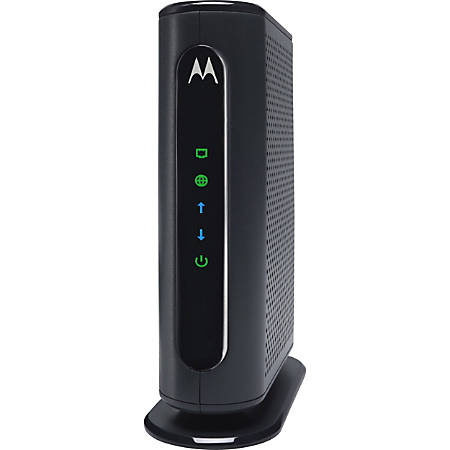 Motorola 16x4 Cable Modem, Model MB7420, 686 Mbps DOCSIS 3.0, Certified by Comcast XFINITY, Time Warner Cable, Cox, BrightHouse, and Others - 1 x Network (RJ-45) - Gigabit Ethernet - Desktop
