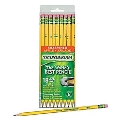 Ticonderoga Pencils Pre Sharpened 2 Soft