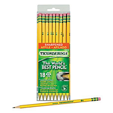 Dixon Ticonderoga Pencils Pre Sharpened 2