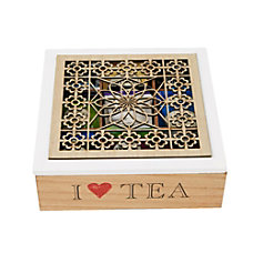 Mind Reader Tea Box Storage Holder