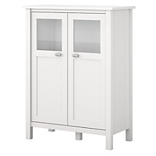Bush Furniture Broadview Storage Cabinet With