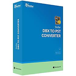 Stellar DBX to PST Converter Download
