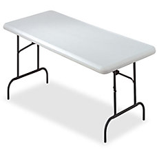 SKILCRAFT Folding Table Rectangle Top 60