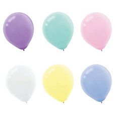 Amscan Latex Pastel Balloons 12 Assorted
