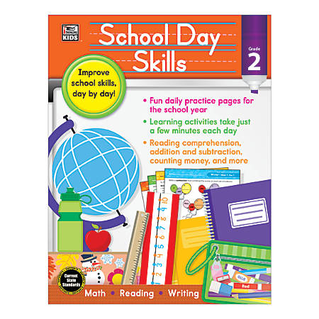 Thinking Kids® School Day Skills, Grade 2