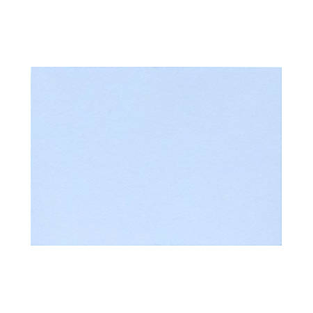 "LUX Flat Cards, A7, 5 1/8"" x 7"", Baby Blue, Pack Of 1,000"