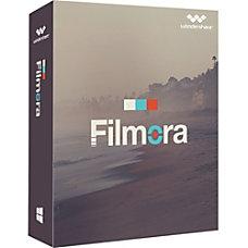 Wondershare Filmora Video Editor Download Version