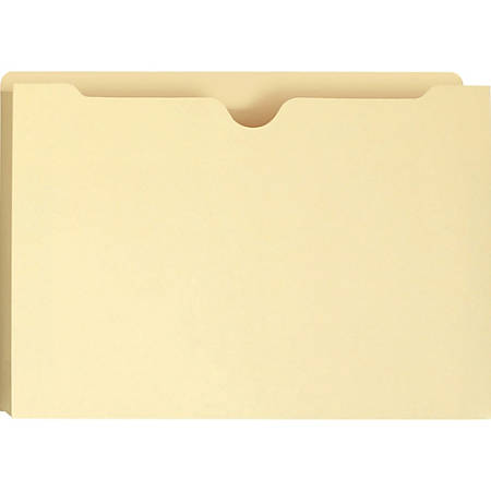 "Smead Manila File Jackets - Legal - 8 1/2"" x 14"" Sheet Size - 2"" Expansion - 11 pt. Folder Thickness - Manila - Manila - Recycled - 50 / Box"