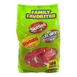 Wrigleys Family Favorites Bag Of 180