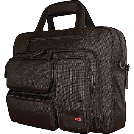 """Mobile Edge Carrying Case (Briefcase) for 16"""" Ultrabook - Black"""