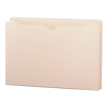 """Smead® Manila File Jackets, 1 1/2"""" Expansion, Legal Size, Box Of 50"""