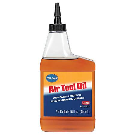 CRC Air Tool Oils, 15 Oz, Pack Of 12 Bottles