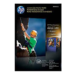 HP Advanced Photo Paper 4 x