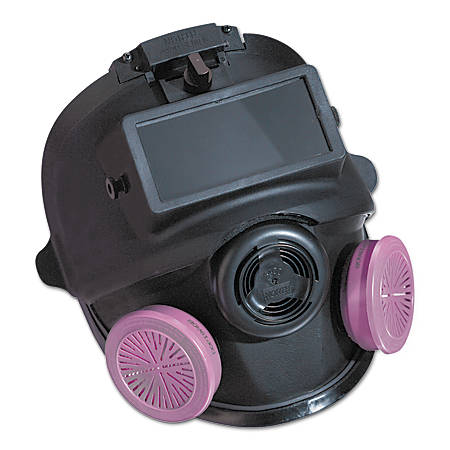 LOW MAINTENANCE MED/LARGE FULL FACE RESPIRATOR