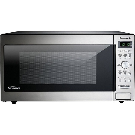 Panasonic Nn Sd745s Microwave Oven Single 11 97 Gal Capacity Built In Installation 10 Levels 1250 W 15