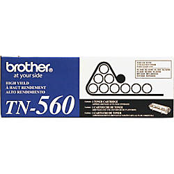 Brother TN 560 High Yield Black