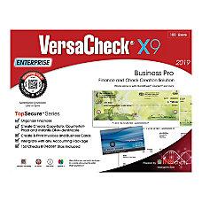 VersaCheck TopSecure X9 Enterprise 2019 100