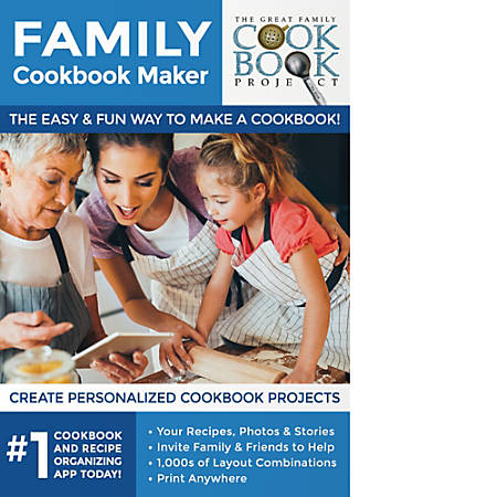 Family Cookbook Maker