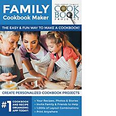 Family Cookbook Maker Download Version