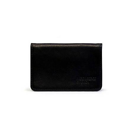 Mobile Edge I.D. Sentry Credit Card Wallet - Leather - Black