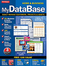 MyDatabase Home and Business Download Version