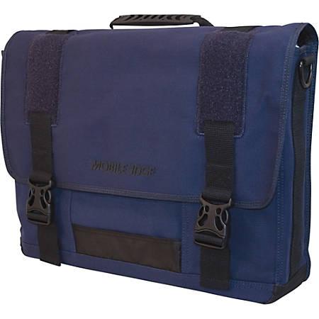 "Mobile Edge 17.3"" Canvas ECO Messenger Bag - Navy"