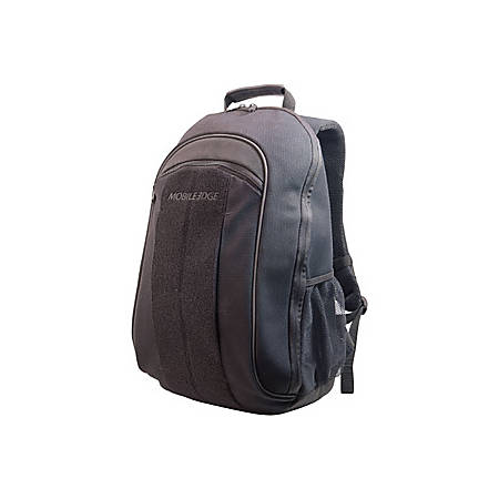 "Mobile Edge 17.3"" Canvas Eco-Backpack, Black"