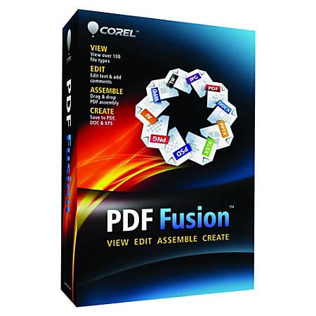 Corel PDF Fusion, Download Version