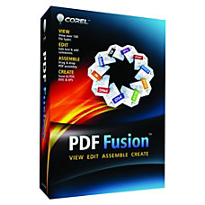 Corel PDF Fusion Download Version
