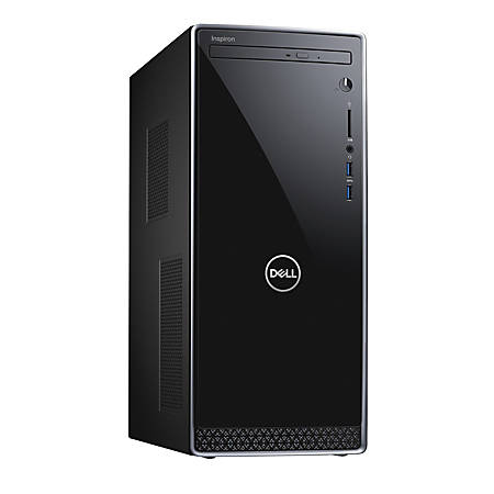 Dell™ Inspiron 3670 Desktop PC, 8th Gen Intel® Core™ i3, 8GB Memory, 1TB Hard Drive, Windows® 10 Home