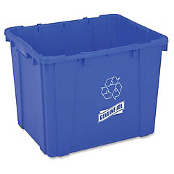 Genuine Joe 14 Gallon Recycling Bin