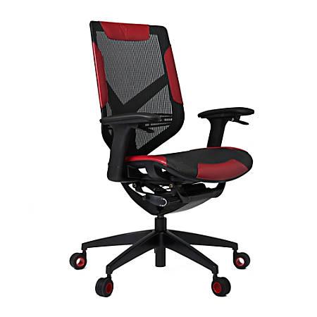 Vertagear Gaming Series Triigger 275 Ergonomic Chair, Black/Red
