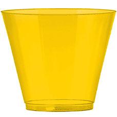 Amscan Plastic Cups 9 Oz Sunshine