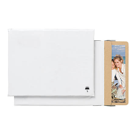 "Office Depot® Brand Poly Photo Mailer, 9"" x 12"", White, Pack Of 3"