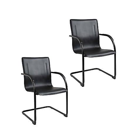 Boss Side Chair, Black