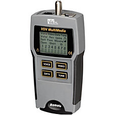 IDEAL VDV MultiMedia Cable Tester Short
