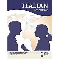 Transparent Language Italian Essentials for Mac